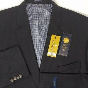 Stafford Suits & Blazers - Stafford Men's Executive Hopsack Big & Tall Blazer